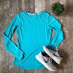 Nike Run Miler Long Sleeve Dri Fit Top